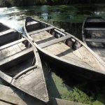 Baudequin, barque en bois